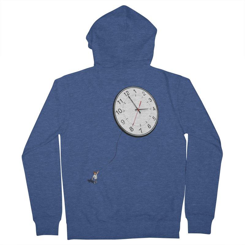 Time Flies Men's Zip-Up Hoody by steveash's Artist Shop