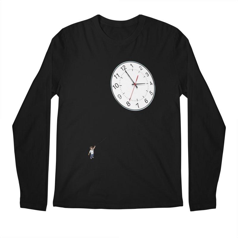 Time Flies Men's Regular Longsleeve T-Shirt by steveash's Artist Shop