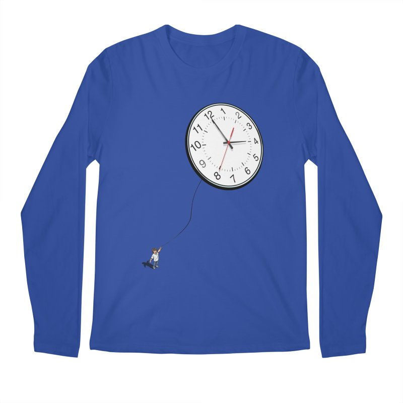 Time Flies Men's Longsleeve T-Shirt by steveash's Artist Shop