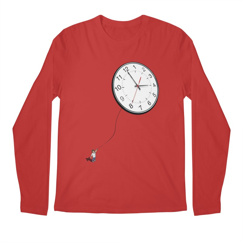 Time Flies Men's Longsleeve T-Shirt by steveash's Artist Shop