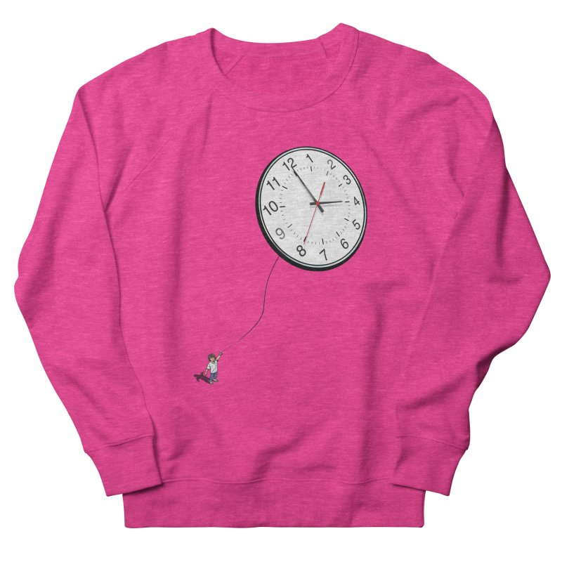Time Flies Men's French Terry Sweatshirt by steveash's Artist Shop
