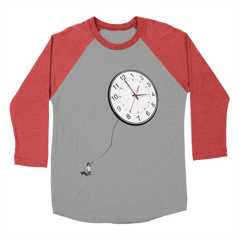 Time Flies Women's Baseball Triblend T-Shirt by steveash's Artist Shop