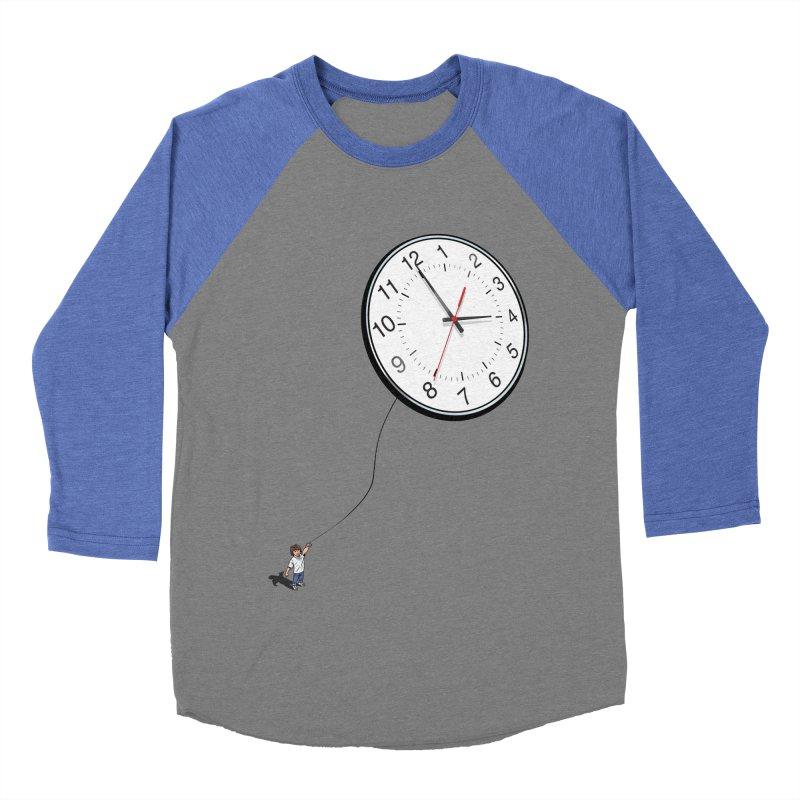 Time Flies Men's Baseball Triblend T-Shirt by steveash's Artist Shop