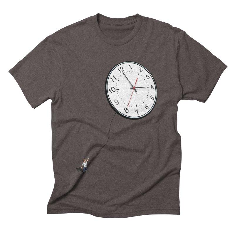 Time Flies Men's Triblend T-shirt by steveash's Artist Shop