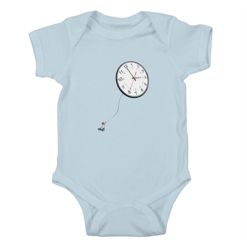 Time Flies Kids Baby Bodysuit by steveash's Artist Shop