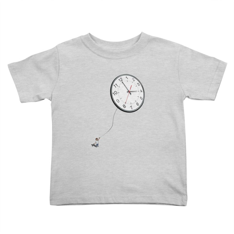 Time Flies Kids Toddler T-Shirt by steveash's Artist Shop