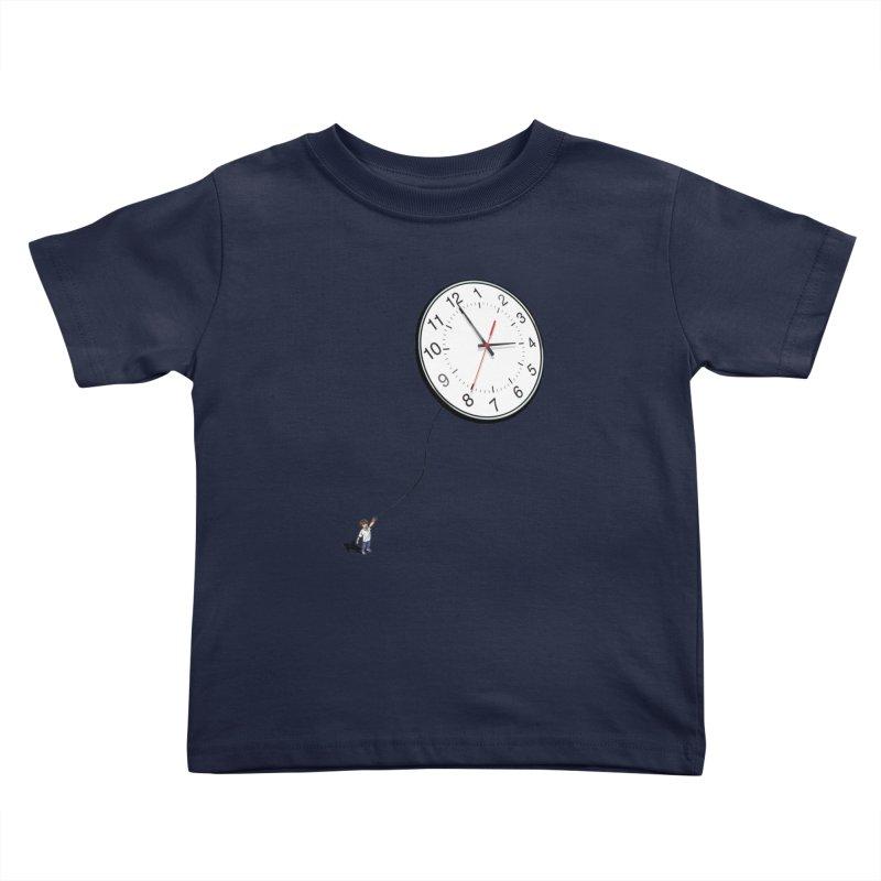 Time Flies Kids Toddler T-Shirt by steveash's Artist Shop