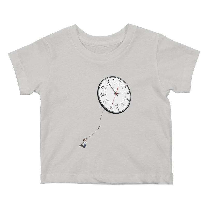 Time Flies Kids Baby T-Shirt by steveash's Artist Shop