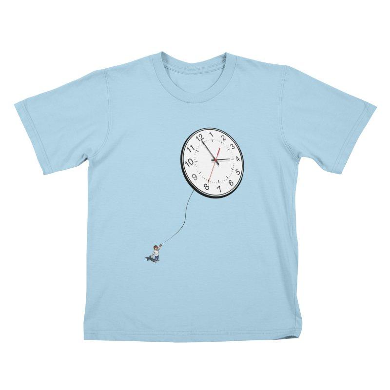Time Flies Kids T-shirt by steveash's Artist Shop