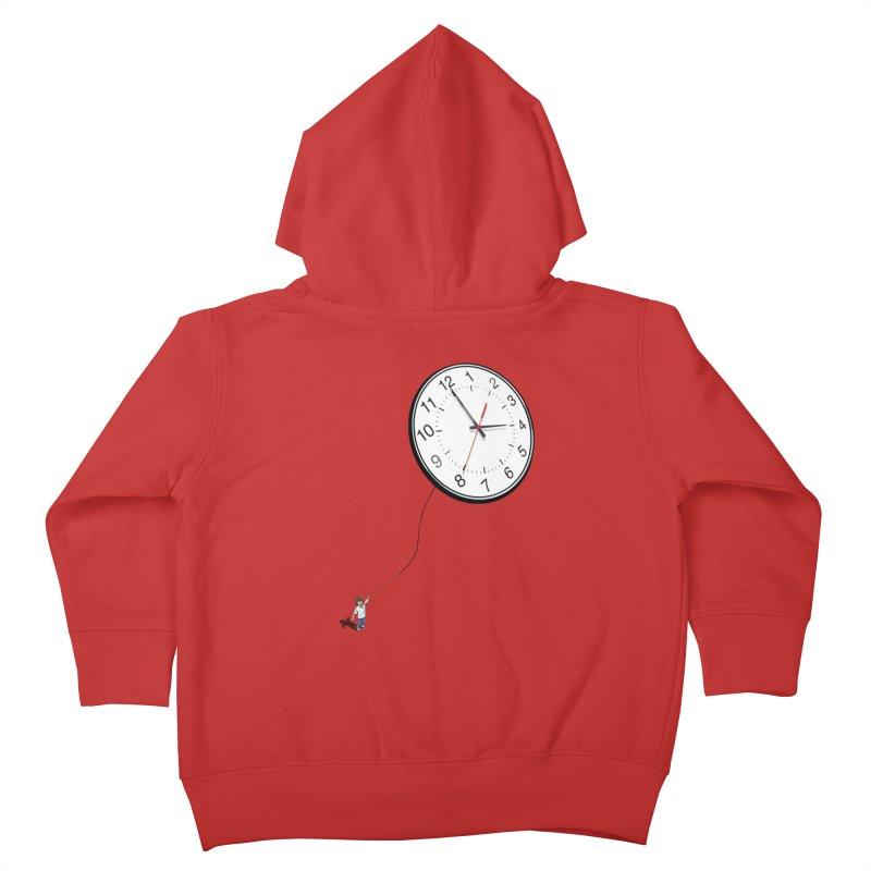 Time Flies Kids Toddler Zip-Up Hoody by steveash's Artist Shop