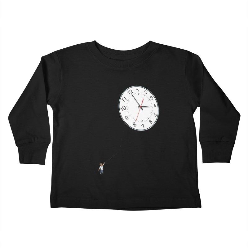 Time Flies Kids Toddler Longsleeve T-Shirt by steveash's Artist Shop