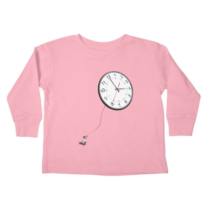 Time Flies Kids Toddler Longsleeve T-Shirt by steveash's Artist Shop