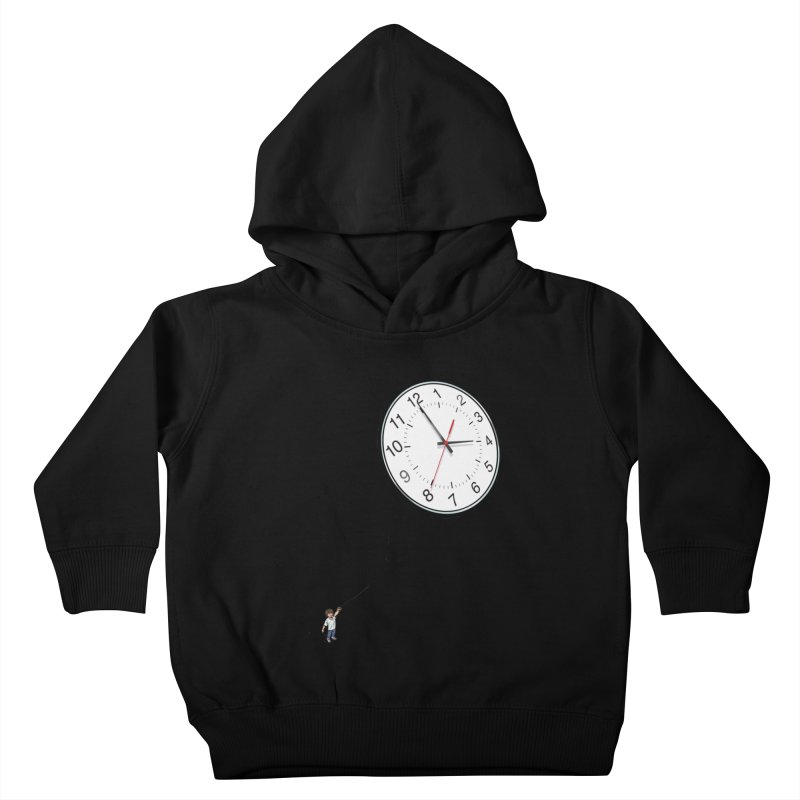 Time Flies Kids Toddler Pullover Hoody by steveash's Artist Shop