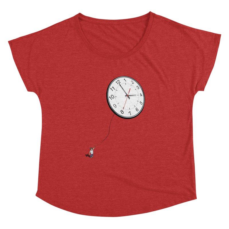 Time Flies Women's Dolman by steveash's Artist Shop