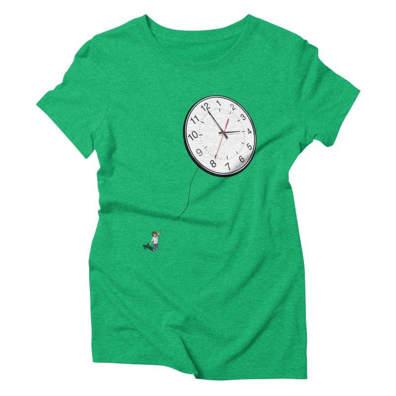Time Flies Women's Triblend T-shirt by steveash's Artist Shop