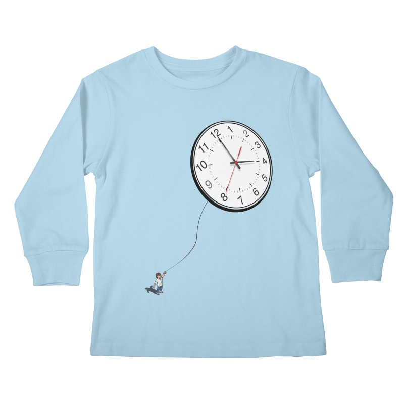 Time Flies Kids Longsleeve T-Shirt by steveash's Artist Shop