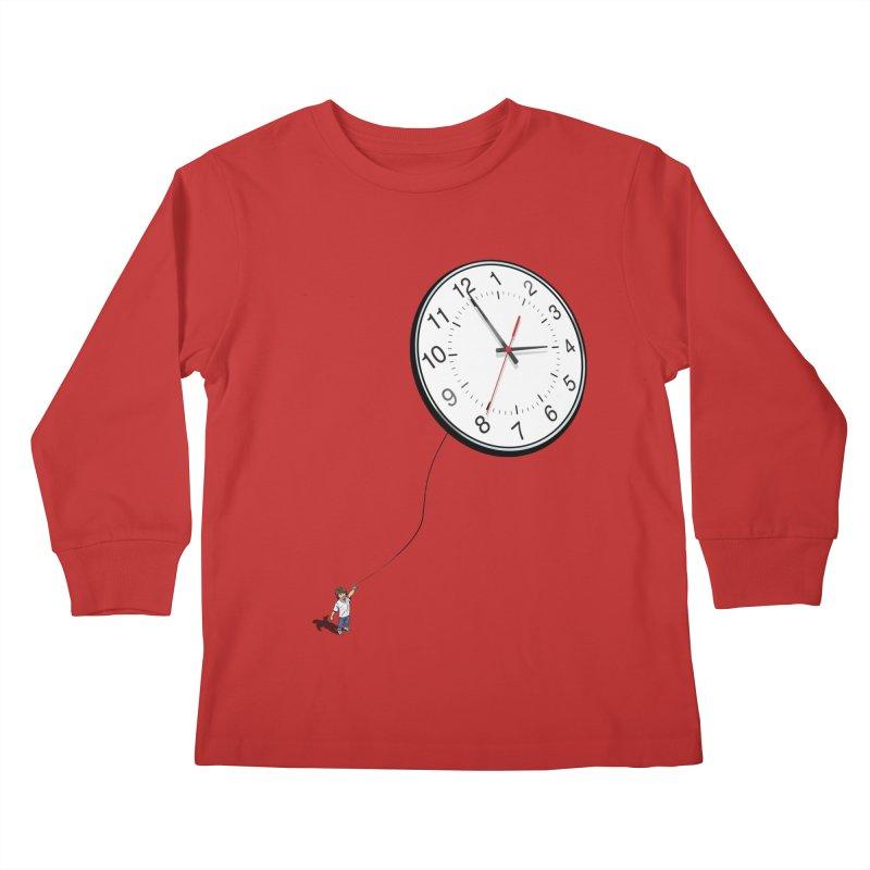 Time Flies Kids Longsleeve T-Shirt by steveash's Artist Shop