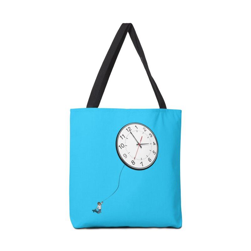Time Flies Accessories Bag by steveash's Artist Shop