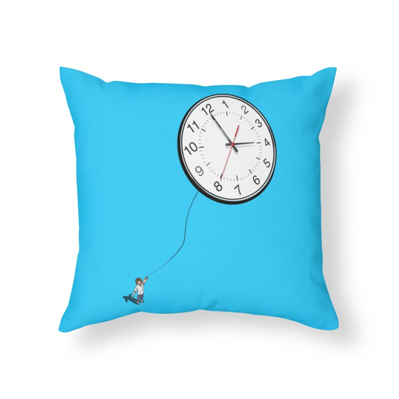 Time Flies Home Throw Pillow by steveash's Artist Shop