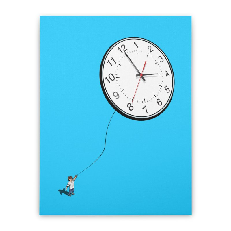 Time Flies Home Stretched Canvas by steveash's Artist Shop