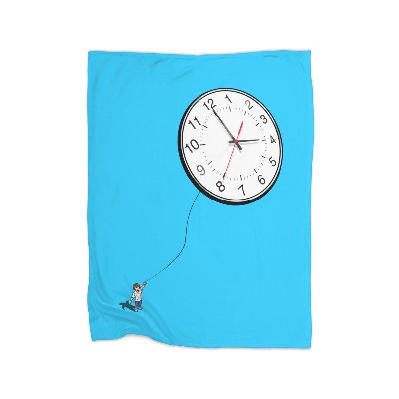 Time Flies Home Blanket by steveash's Artist Shop
