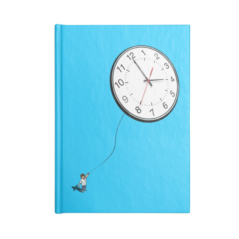 Time Flies Accessories Blank Journal Notebook by steveash's Artist Shop