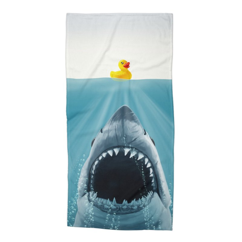 Save Ducky Accessories Beach Towel by steveash's Artist Shop