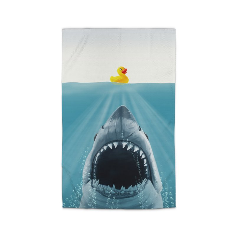 Save Ducky Home Rug by steveash's Artist Shop