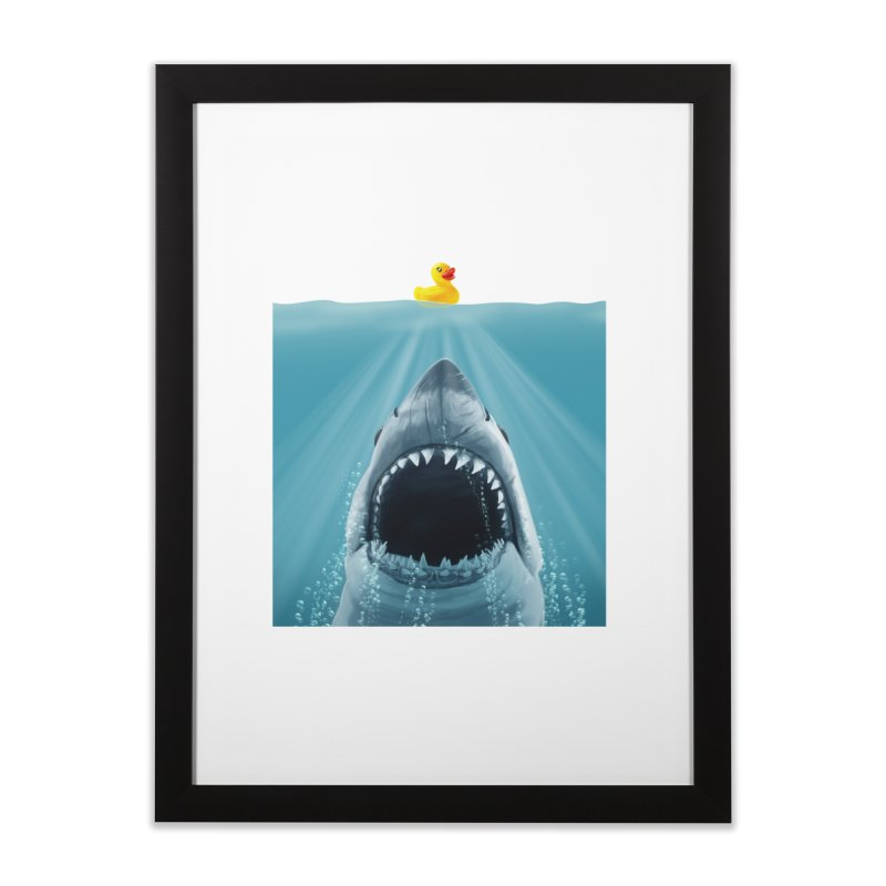 Save Ducky Home Framed Fine Art Print by steveash's Artist Shop