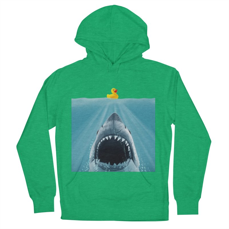 Save Ducky Men's French Terry Pullover Hoody by steveash's Artist Shop