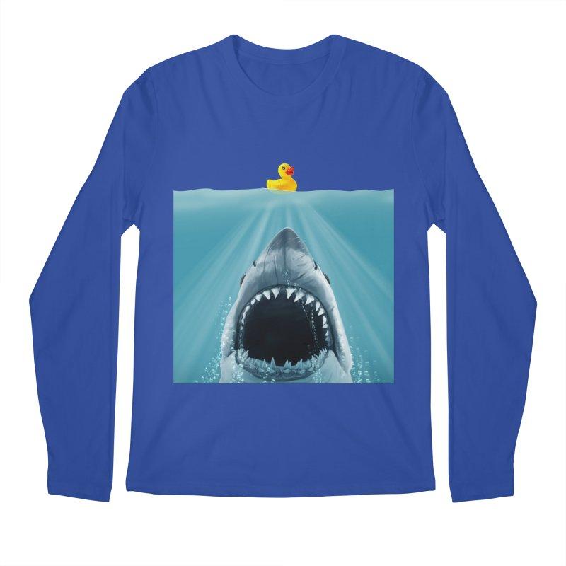 Save Ducky Men's Regular Longsleeve T-Shirt by steveash's Artist Shop