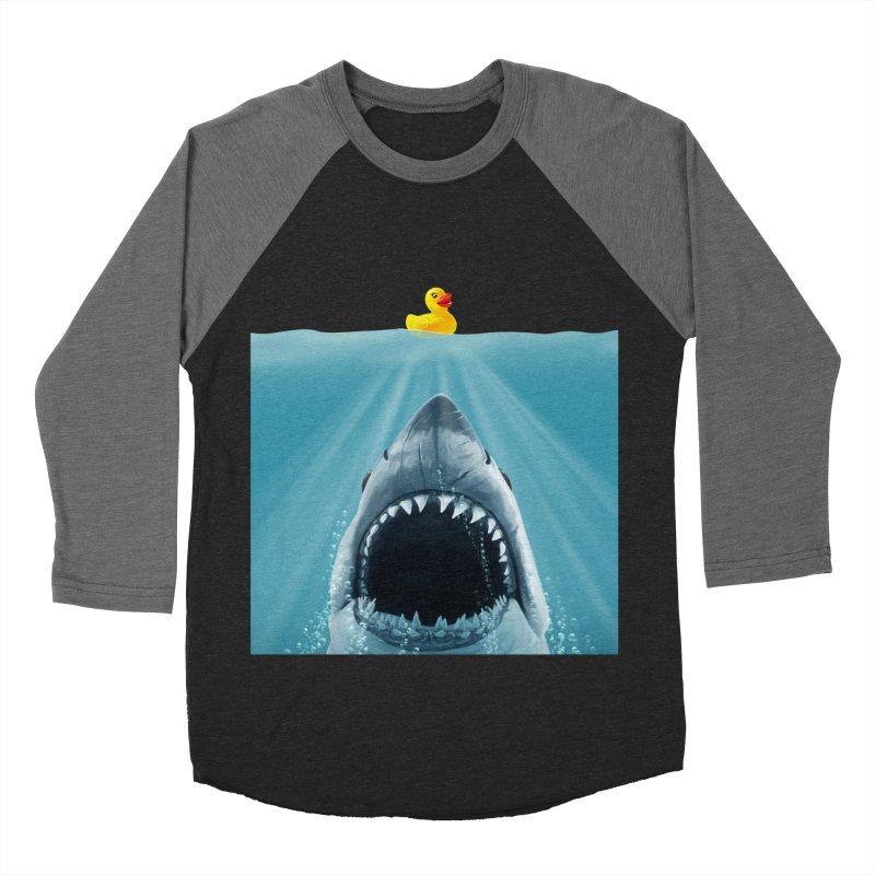 Save Ducky Men's Baseball Triblend T-Shirt by steveash's Artist Shop