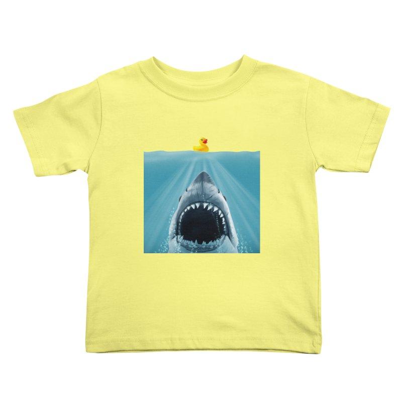 Save Ducky Kids Toddler T-Shirt by steveash's Artist Shop