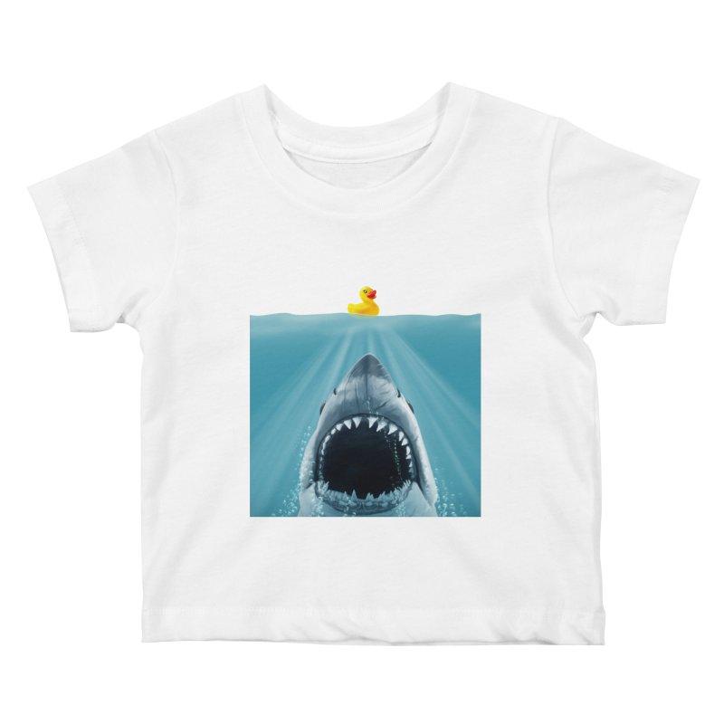 Save Ducky Kids Baby T-Shirt by steveash's Artist Shop