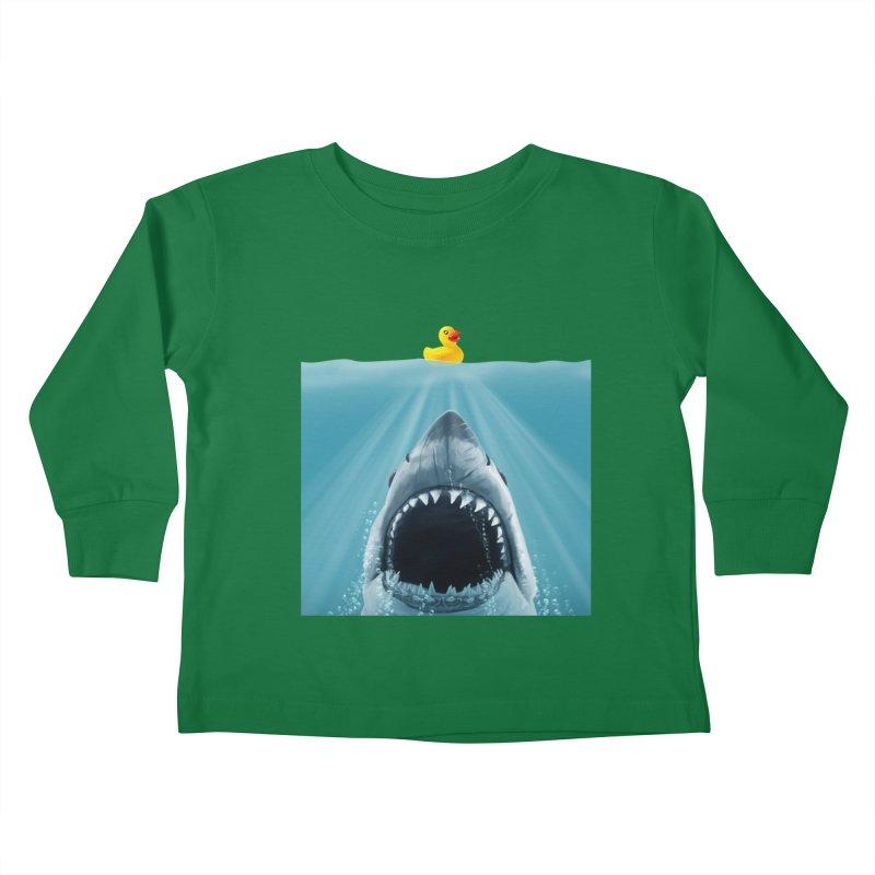 Save Ducky Kids Toddler Longsleeve T-Shirt by steveash's Artist Shop