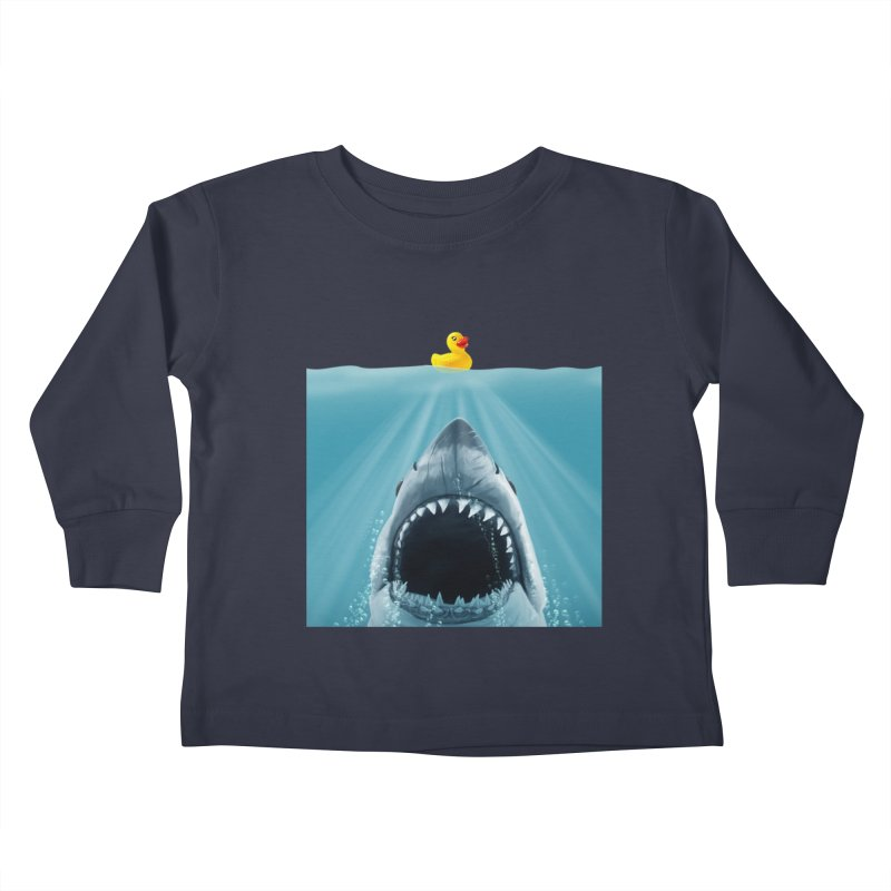 Save Ducky Kids Toddler Longsleeve T-Shirt by steveash's Artist Shop