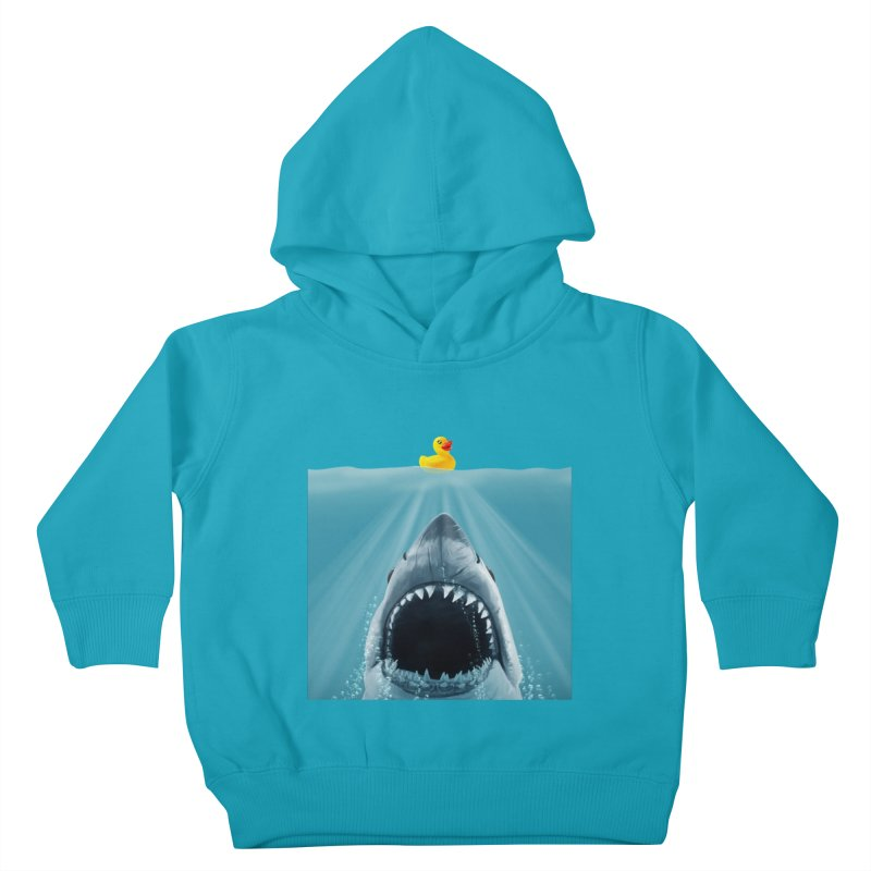 Save Ducky Kids Toddler Pullover Hoody by steveash's Artist Shop
