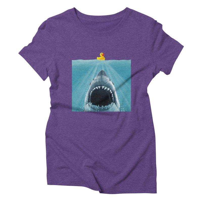 Save Ducky Women's Triblend T-shirt by steveash's Artist Shop