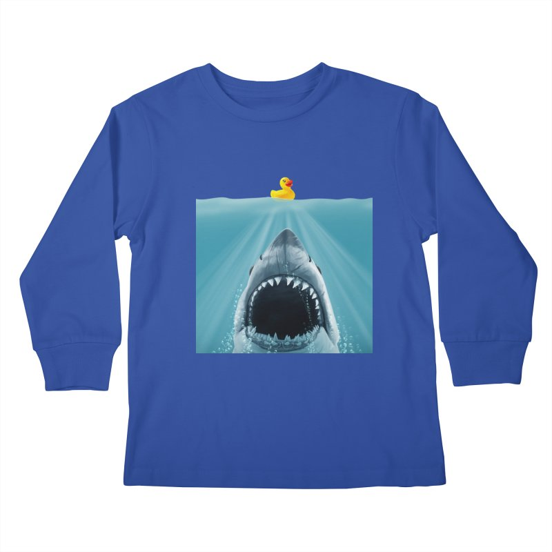 Save Ducky Kids Longsleeve T-Shirt by steveash's Artist Shop