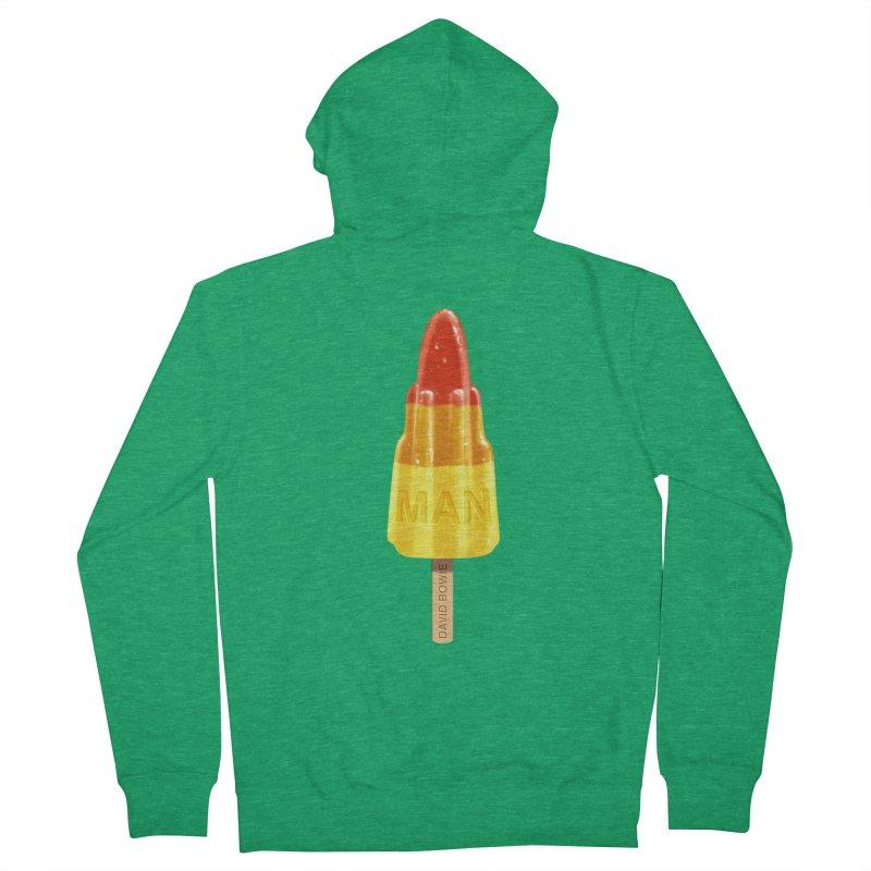 Rocket Man Men's Zip-Up Hoody by steveash's Artist Shop