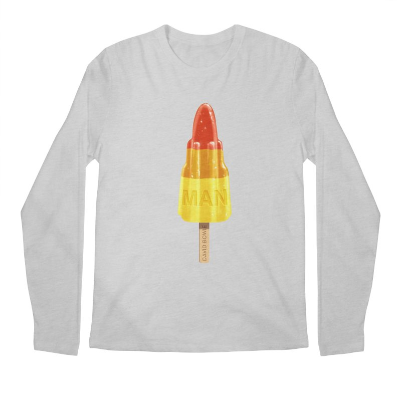 Rocket Man Men's Longsleeve T-Shirt by steveash's Artist Shop