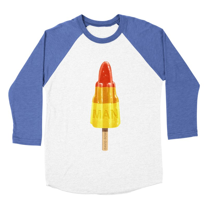 Rocket Man Men's Baseball Triblend T-Shirt by steveash's Artist Shop