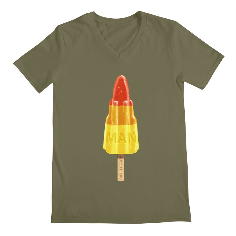 Rocket Man Men's V-Neck by steveash's Artist Shop