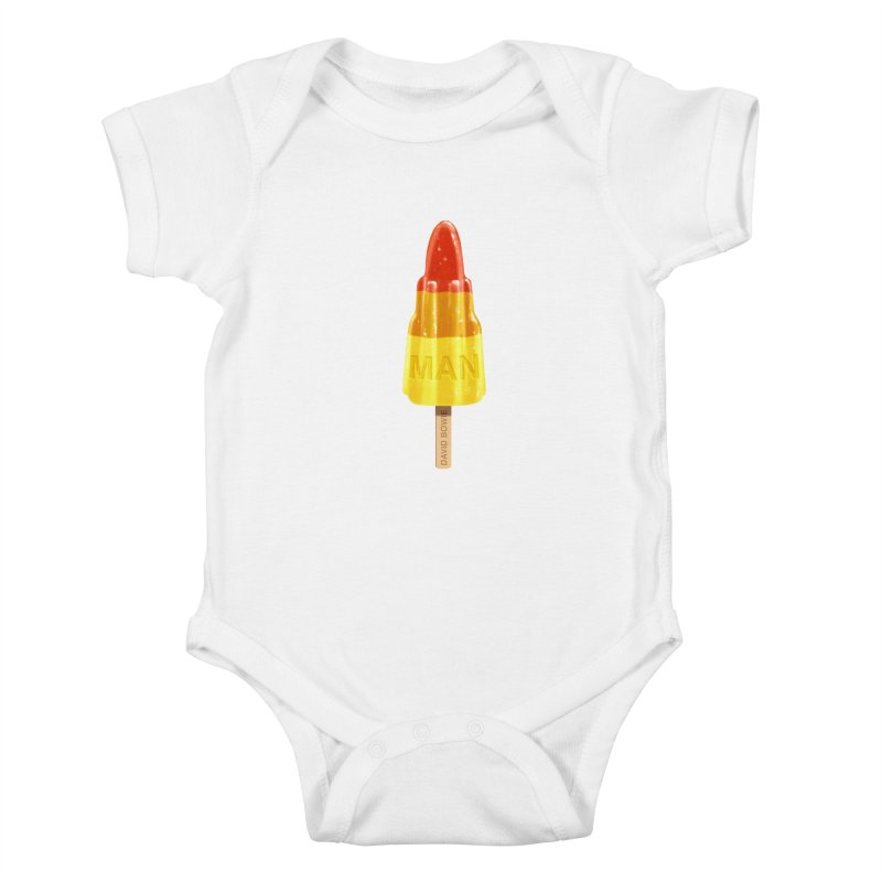 Rocket Man Kids Baby Bodysuit by steveash's Artist Shop