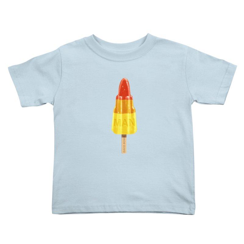 Rocket Man Kids Toddler T-Shirt by steveash's Artist Shop