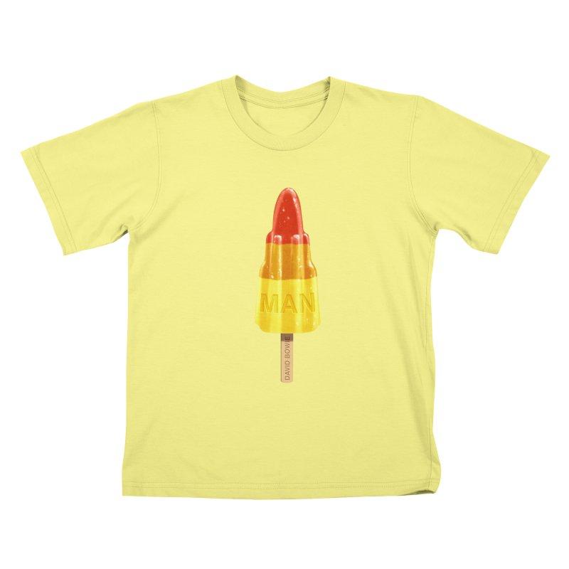 Rocket Man Kids T-shirt by steveash's Artist Shop