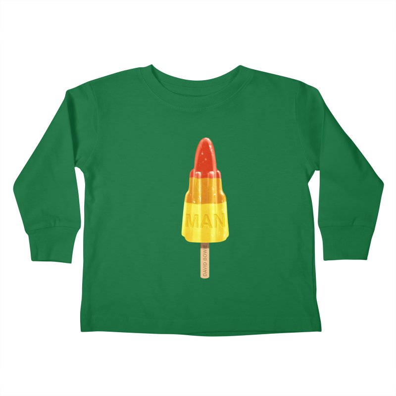 Rocket Man Kids Toddler Longsleeve T-Shirt by steveash's Artist Shop