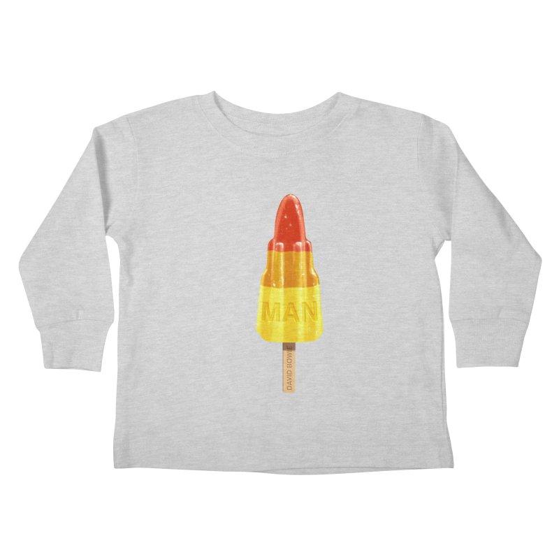 Rocket Man Kids Toddler Longsleeve T-Shirt by steveash's Artist Shop