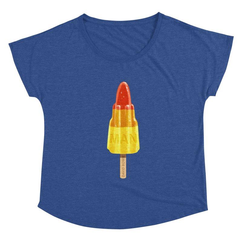Rocket Man Women's Dolman by steveash's Artist Shop