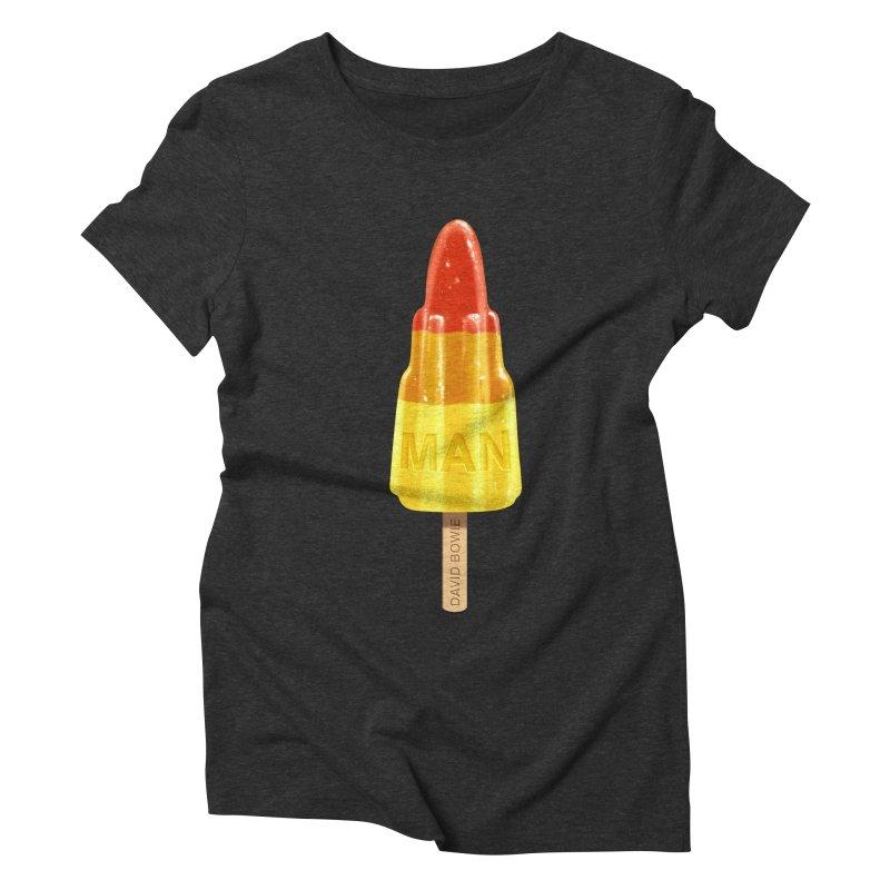 Rocket Man Women's Triblend T-shirt by steveash's Artist Shop